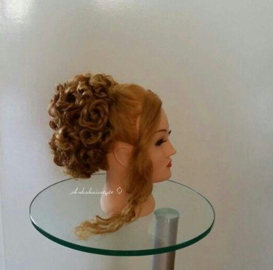 Weddinghairstyle gala hair