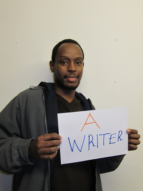 He would be a writer if he had the right skills #YouthSkillsWork
