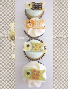 corecle コレクル > *mimi* > こいのぼりバニラビーンカップケーキ