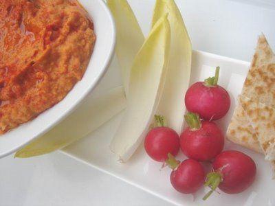 Sült paprikás hummusz | Chili és Vanília