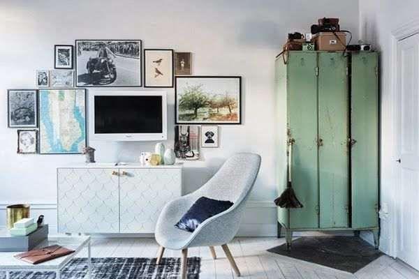 5 ideas para decorar con taquillas metálicas. #decoración #taquillasmetálicas #vintage #estiloindustrial #reciclaje