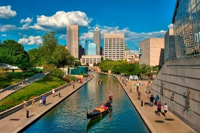 Did you know there was a giant canal running through downtown Indianapolis, complete with bike path, kayak and Segway rentals, even gondolas from Venice?