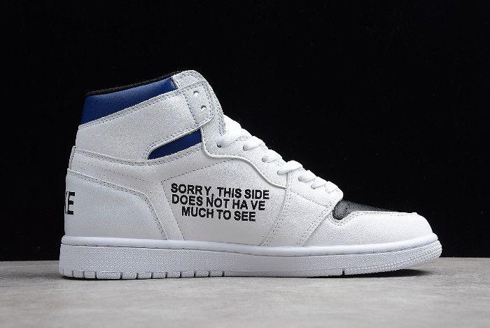 85796d6bb9be 2019 Jordan Releases Jordan 1 High OG VNT AGE White Black University Blue-1