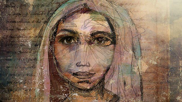 Jeremy Cowart was recently asked by his church (Journey Church of Franklin, TN) to create a series of illustrations to show on the stage projection screens. This first illustration is a portrait of Mary.  Music by Gungor