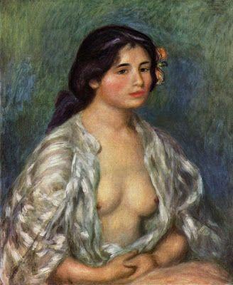 Art Models and Renoir. Gabrielle Renard ~ Blog of an Art Admirer