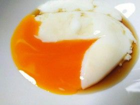 Oeufs mollets/ onsen : temps de cuisson ☆メモ☆温泉卵の作り方☆QC☆