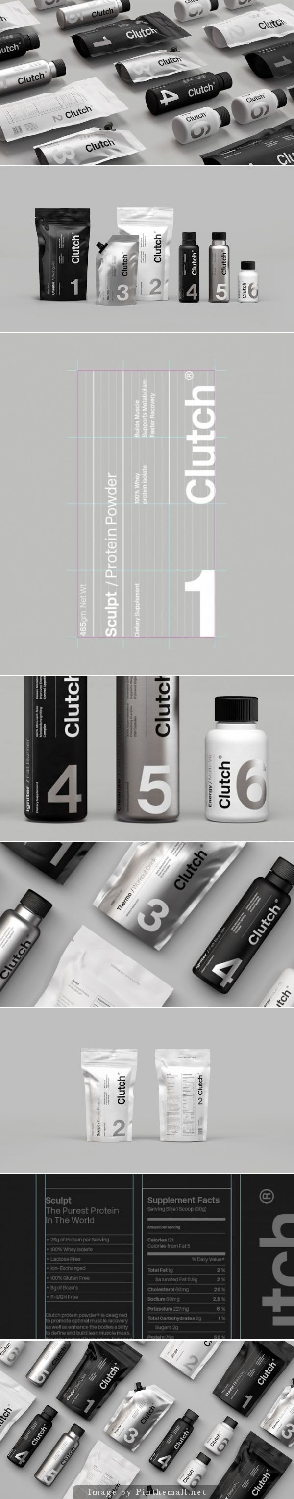 Clutch Bodyshop, Creative Agency: Socio Design - http://www.packagingoftheworld.com/2014/10/clutch-bodyshop.html:
