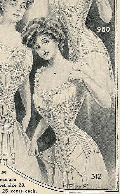 1906-1910 corset: 1900 S Corsets, Corsets Tried, Corsets Reference, 1906 1910 Corsets, Corsets History Vintage, Body Shape, Lingerie Corsets, Corsets Rhapsodi