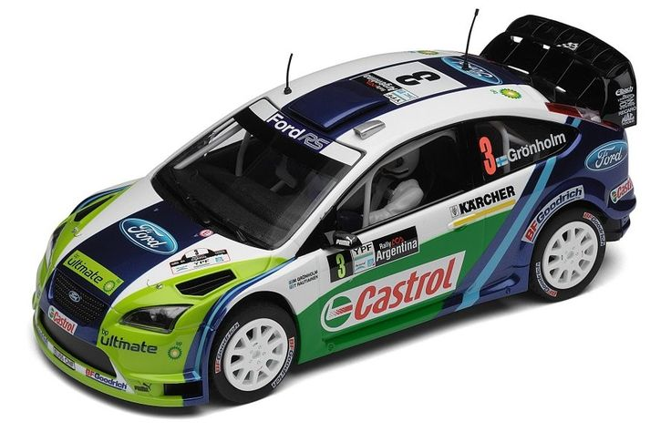C2802 Scalextric Cars - Ford Focus M Gronholm - New ... - Picture Site