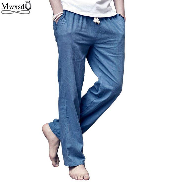 2016-новый-бренд-высокое-качество-летние-льняные-мужские-бегунов-широкий-брюки-свободного-покроя-тренажерный-зал-тонкие.jpg (800×800)
