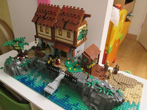 17 best ideas about lego village on pinterest lego city lego creations and - Idee construction lego ...