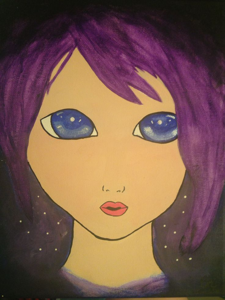Newest creation! Reminds me of the main character in a book called stargazer