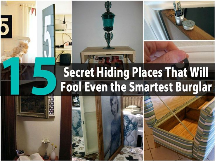 15 Secret Hiding Places That Will Fool Even The Smartest