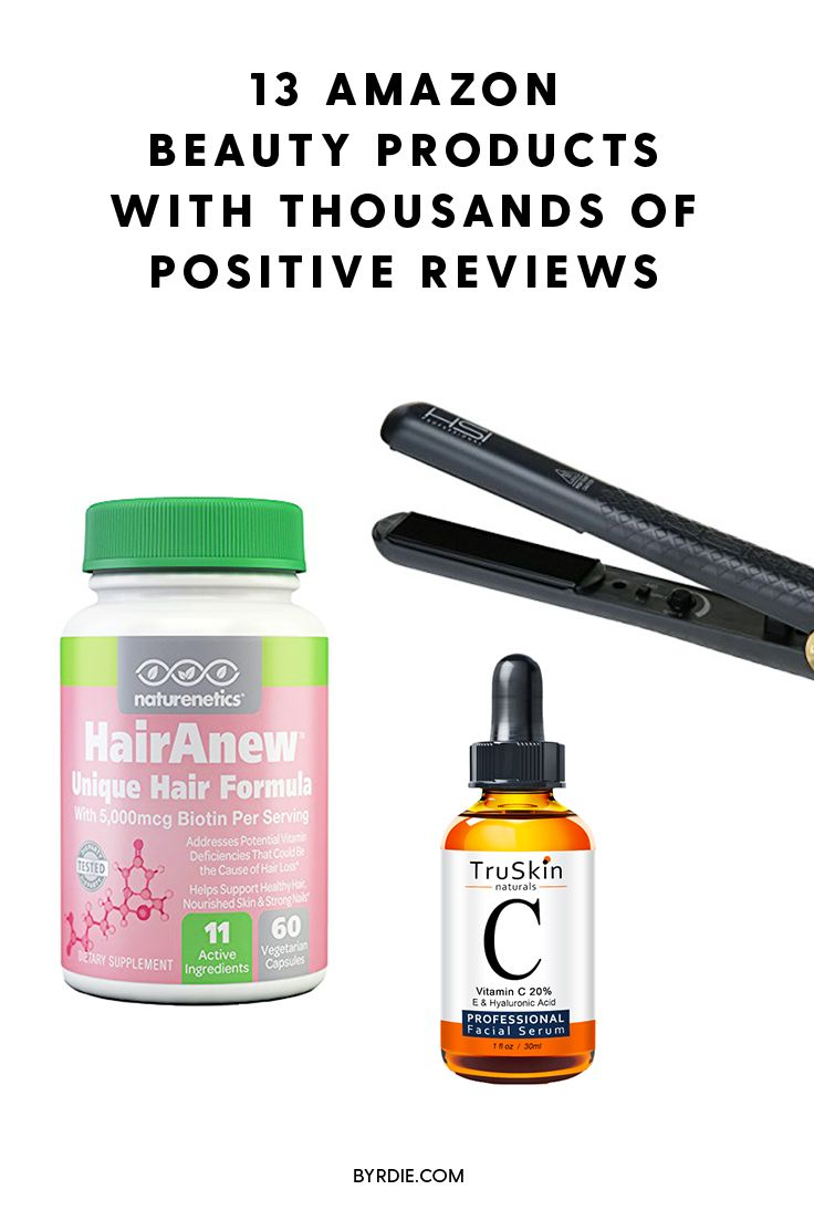 The Amazon beauty products with the most positive reviews