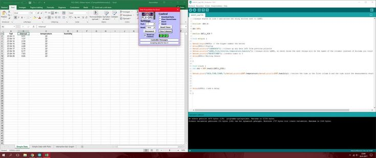 Sending Data From Arduino to Excel (and Plotting It)