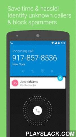 Caller ID +  Android App - playslack.com ,  Caller ID + is brought to you by the Contacts Plus Team - awarded 'top developer' by Google Play!Caller ID + is a free Caller ID and Spam Block app. Key features include: CONNECT WITH FRIENDS, BLOCK SPAMMERSA true all-in-one contacts, dialer, sms and call log app that helps you block unwanted people via caller ID & block. Whether it's a call or sms - you're always in control over the people you connect with.PROTECT YOUR CONTACTSIn addition to block