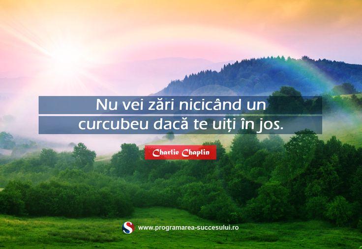 Gândeşte pozitiv şi bucură-te de viaţă pe care o ai! Zâmbeşte....bucuria vine din lucrurile simple pe care le faci în fiecare zi!  Ne poți susține cu un Share :)  Bonus pentru tine: - Îţi doreşti să primeşti săptămânal informaţii practice pentru dezvoltarea ta personală? - Îţi doreşti să ai acces la singurul curs Video GRATUIT de dezvoltare personală din România?   Înscrie-te gratuit în comunitatea Programarea Succesului! Click aici…
