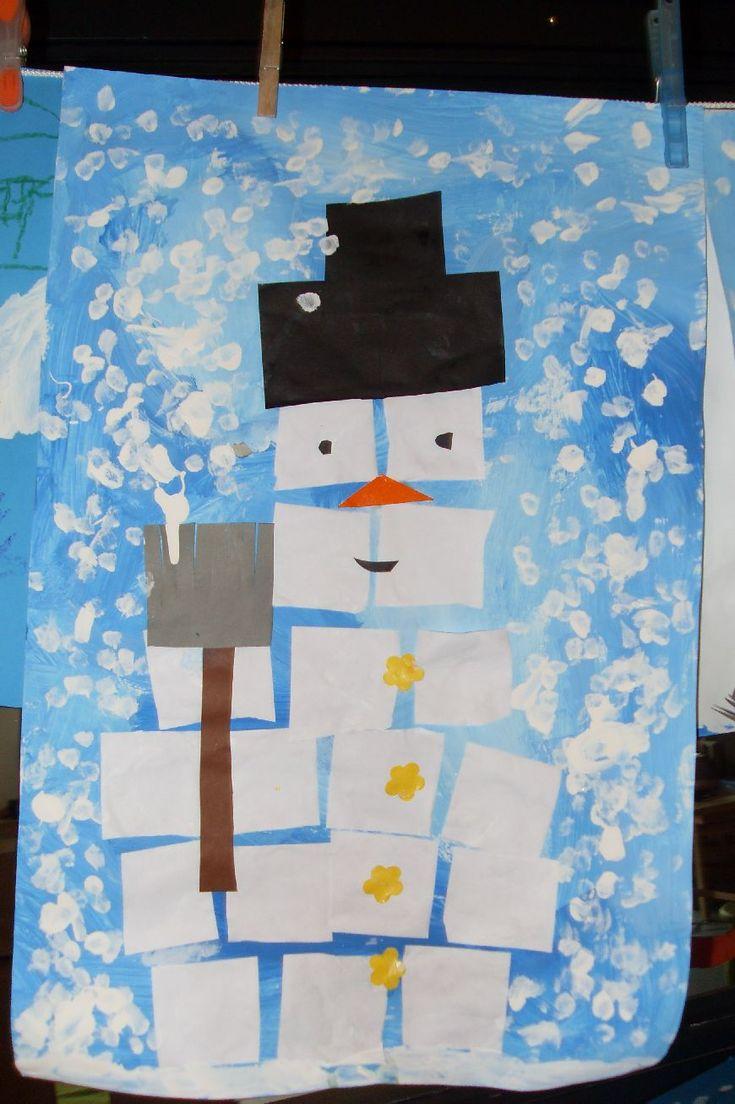 Winter in groep 1 en 2