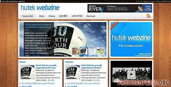 Hutek Webzine Wordpress Theme Download