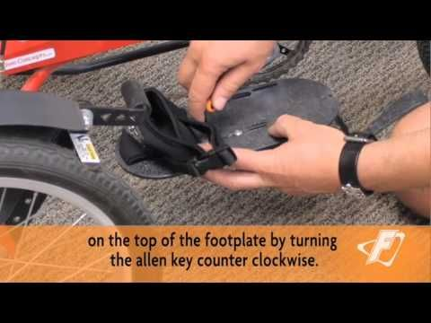 Replacing Neoprene Footplates Video for Freedom Concepts Adaptive Tricycles