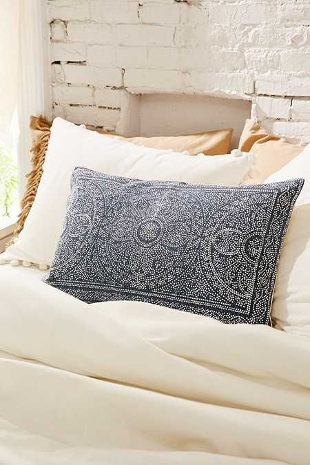 4040 Locust Bandhani Dots Bolster Pillow