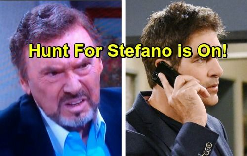 Days of Our Lives Spoilers: Mission to Find Stefano in Prague – Anna, Carrie and Austin Return for Adventure | Celeb Dirty Laundry