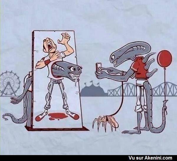 Humour Noir N°8824 - Divertissement chez les aliens