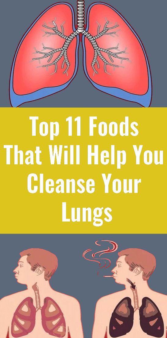 Akciğerlerinizi temizlemenize yardımcı olacak ilk 11 yiyecek