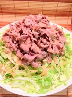 簡単♪ラム肉の冷しゃぶサラダ by まみぽー [クックパッド] 簡単 ...