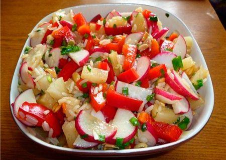 Восточный салат - Подборка вкусных кулинарных рецептов Восточного