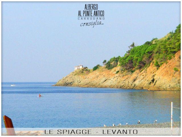 Levanto - Le Spiagge - Albergo Al Ponte Antico Carrodano - La Spezia - Liguria
