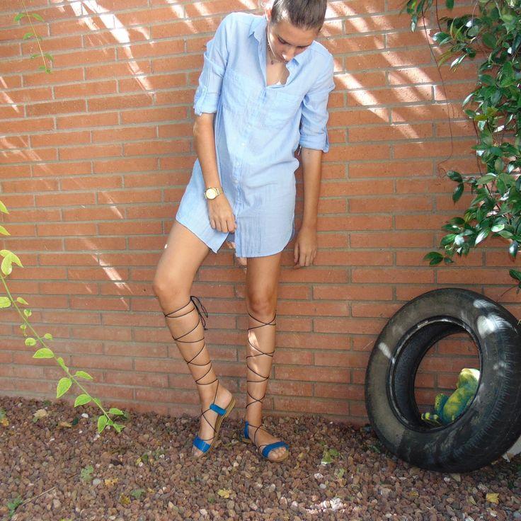 Judith, ganadora del concurso #MarlosSelfie ya tiene sus #sandalias Porronet calzados. ¡Enhorabuena de nuevo y a disfrutarlas este verano!
