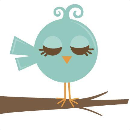 Pretty Bird SVG