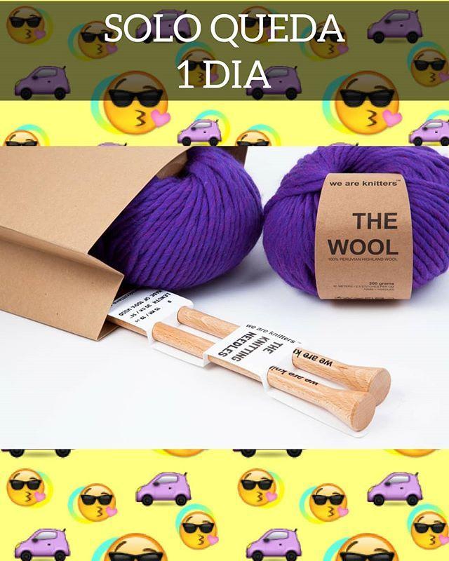 Sólo queda un día para que consigas tu entrada para la Knitting Party del 3 de Marzo en Madrid. Corre a por ella! Que luego no va a haber ni coche ni móvil ni ná de ná para que tengas tu entrada ni tu kit. Link de las entradas: http://ift.tt/2C9xLKD #tejer #tejermola #tricot #crochet #wak #knittingparty #weareknitters #ganchillo #embajadorawak #madrid #knitting #iloveknitting #tejeresmisuperpoder #tejemosysomodernos #baftani