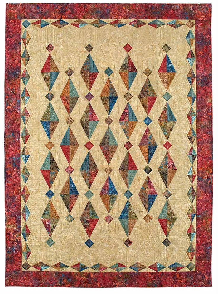 260 best Quilts - with diamonds images on Pinterest