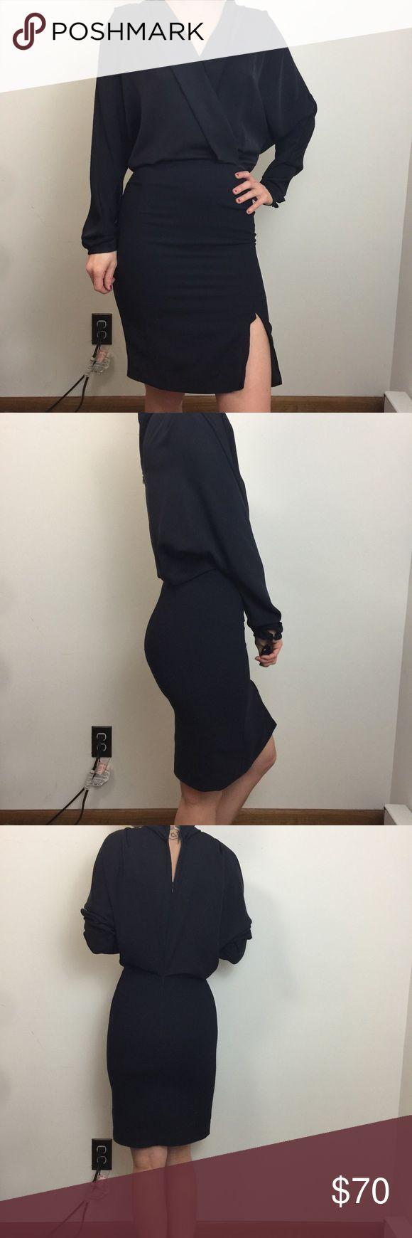 Reiss Dress Reiss Dress good condition and has a loose hem along th leg slit as shown. Repairable Reiss Dresses