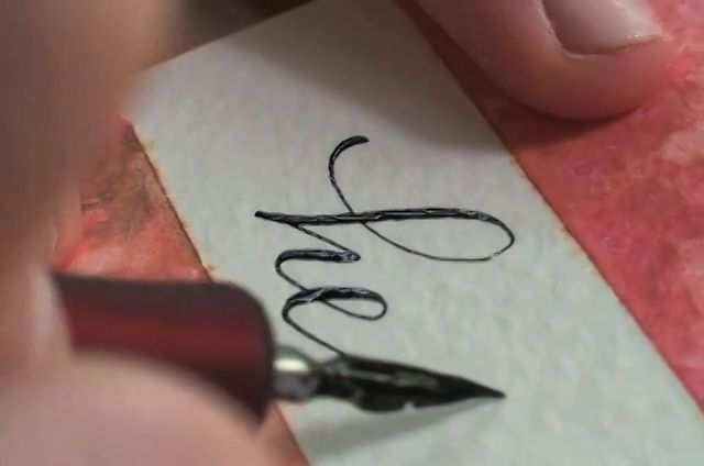 1000 Images About Copperplate Calligraphy On Pinterest