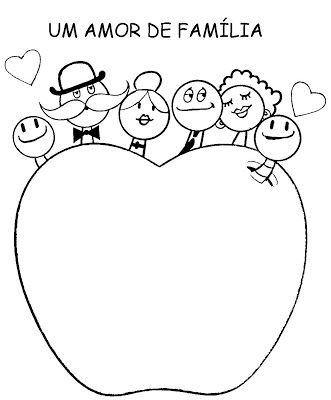 """Blog Ferramenta Pedagógica: Atividade para trabalhar o tema : Familia - Album ilustrado : """" Um Amor de Familia"""""""