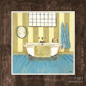 Painting - French Bath 2 by Debbie DeWitt