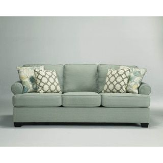 Shop for Signature Design by Ashley Daystar Seafoam Sofa  Get free shipping  at Overstock. Best 25  Ashley furniture outlet ideas on Pinterest   Ashley