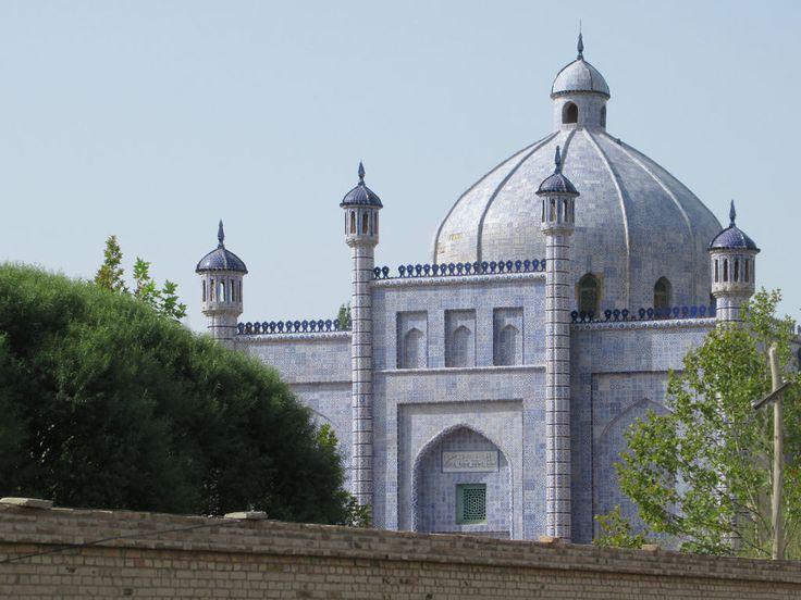The Tomb of Sultan Satuk Bughra Khan at Artush near Kashgar, Xinjiang, China, contains the tomb of the first Kashgar ruler to convert to Islam.