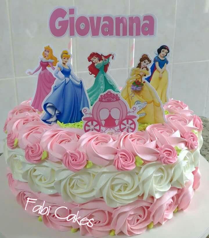 Princesas De Disney Com Imagens Bolo Das Princesas Disney