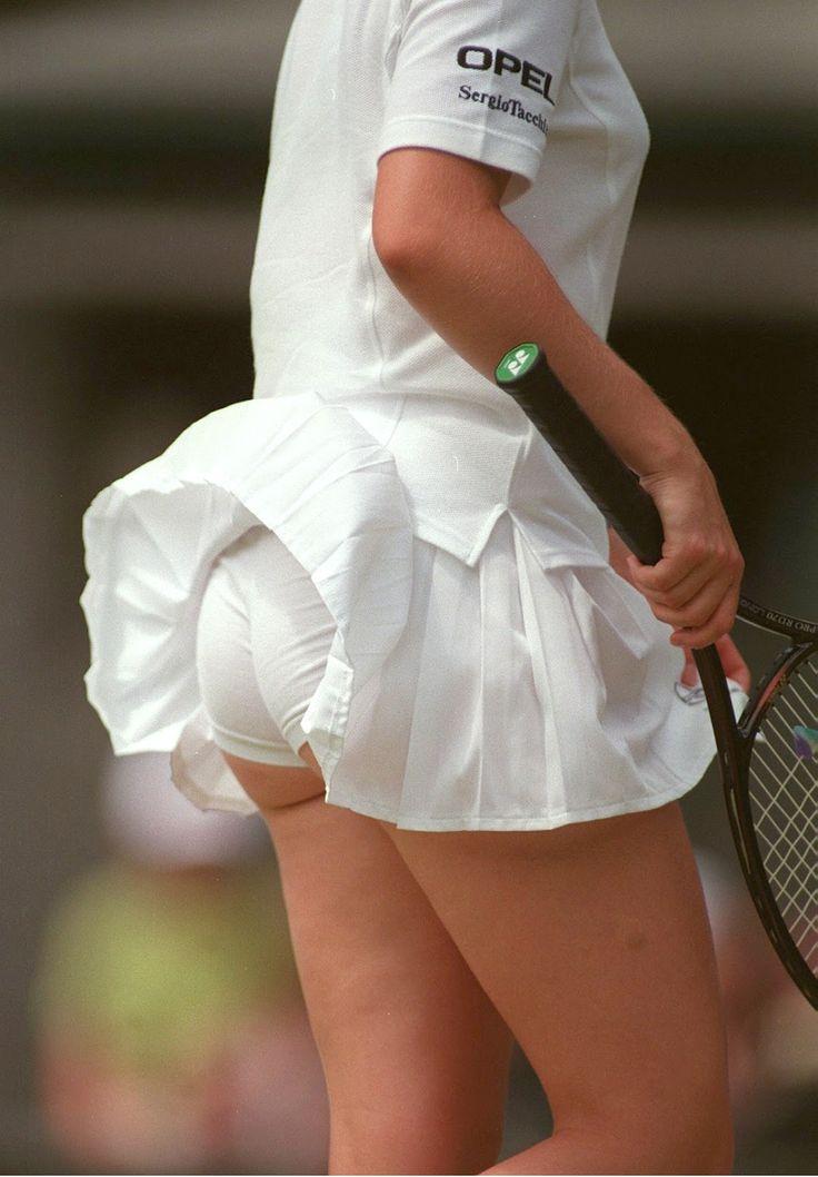 Have tennis star upskirt