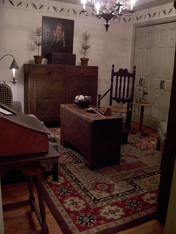 Setting Room...2016 Summer Pics...Linda B. Www. Colonial FurniturePrimitive  FurnitureCountry ...