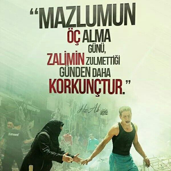 Mazlumun öç alma günü, zalimin zulmettiği günden daha korkunçtur.  [Hazreti Ali r.a]  #mazlum #beddua #alma #Allah #zalim #zulüm #şüphesiz gün #kork #söz #hzali #sözler #hayırlıcumalar #ilmisuffa