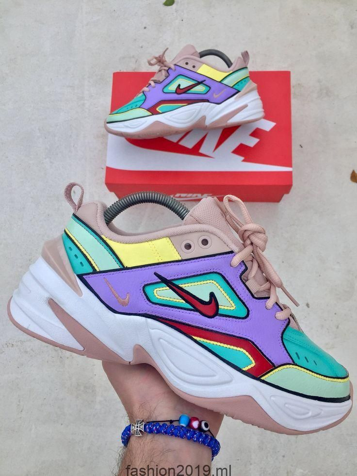 Individuelle Nike M2K Tekno – Nike Colors Individuelle Turnschuhe – Handgemalt – Nike Custom – M2K – Individuelle Schuhe – Individuelle Turnschuhe, #c…