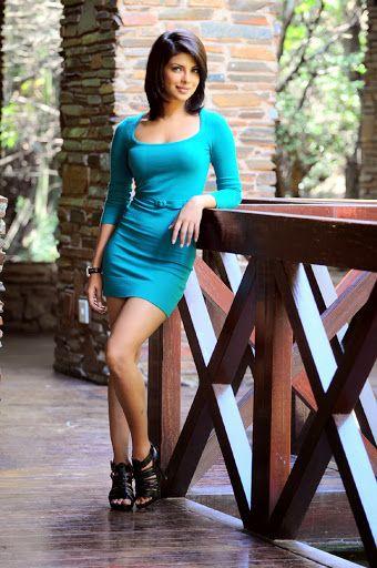 Priyanka Chopra old photo in blue