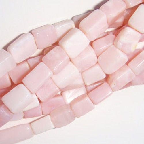 7,32+0 somethingcrafty Strand Of 32+ Pink Opal Approx 5 x 8mm-7 x 10mm Handcut Nugget Beads DW1355