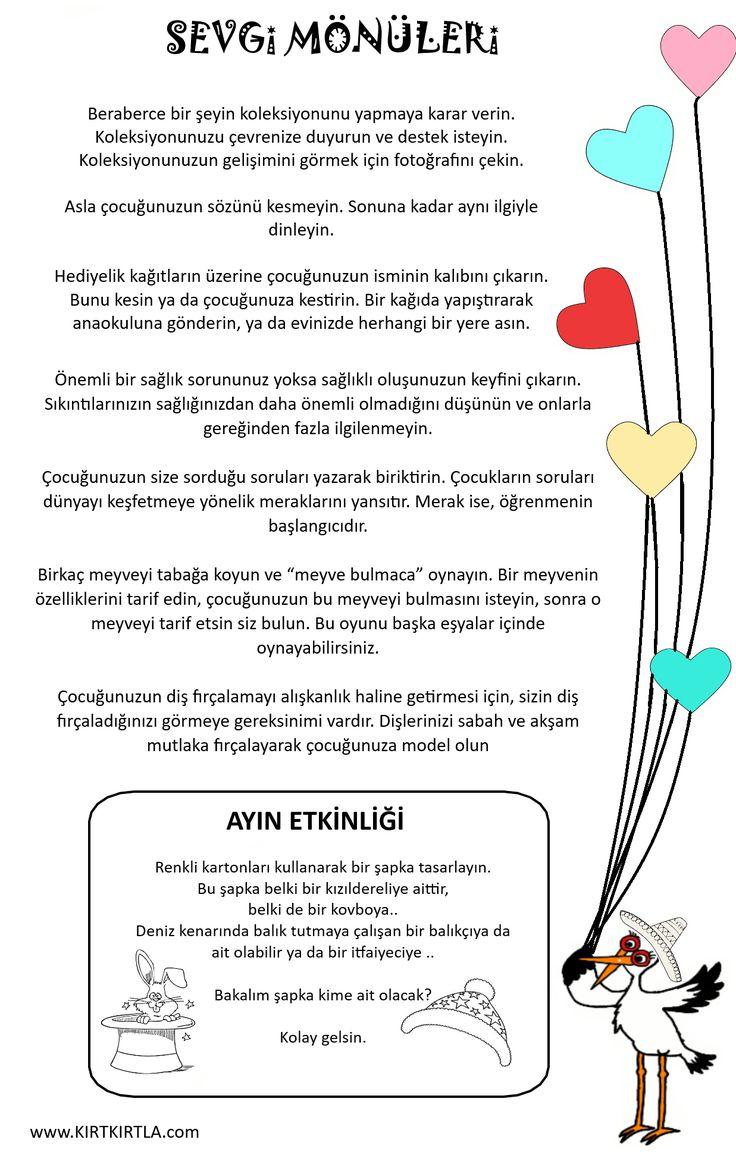 sevgi mönüsü