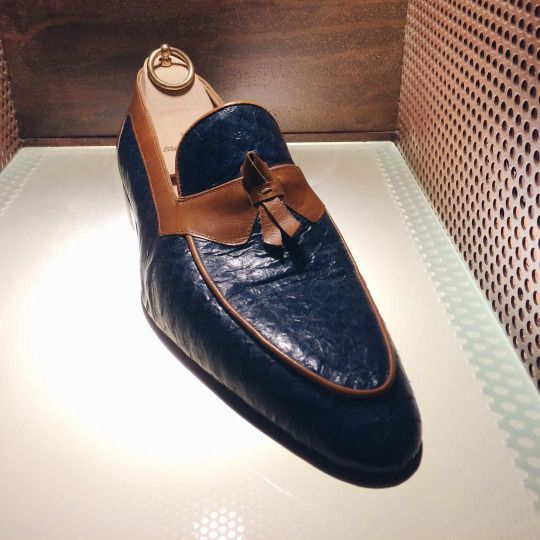 Elegant loafers by Stefano Bemer #stefanobemer #masonandsmith (at Stefano Bemer - Shoemakers)